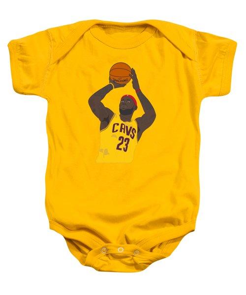 Cleveland Cavaliers - Lebron James - 2014 Baby Onesie