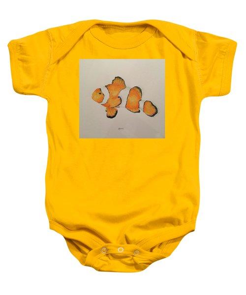 Clown Fish Baby Onesie