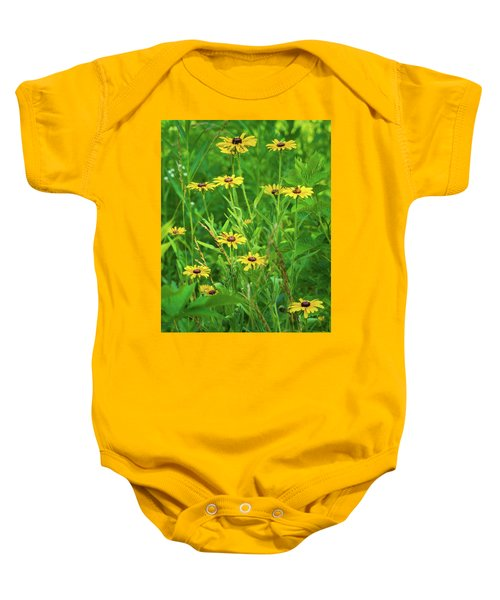 Baby Onesie featuring the photograph Collection In The Clearing by Bill Pevlor
