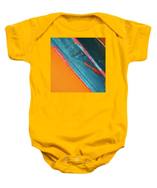Color Abstraction Lxii Sq Baby Onesie