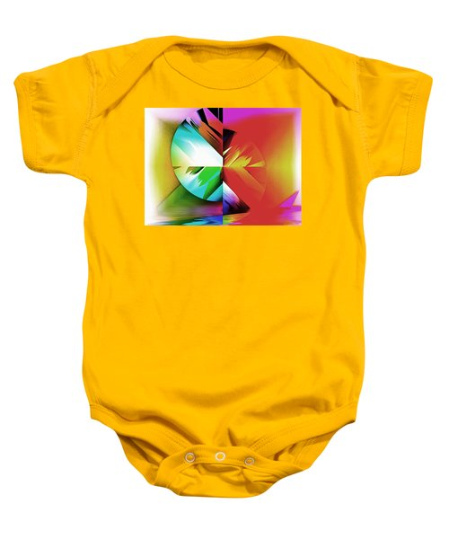 Color Of The Fractal Baby Onesie