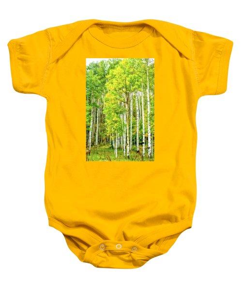 Colorado Fall Foliage Baby Onesie