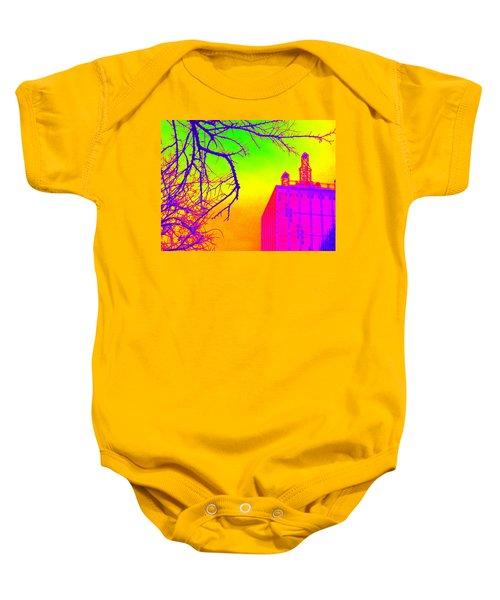 Dallas In Vivid Colors Baby Onesie