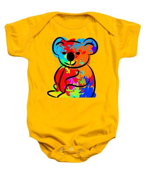Colorful Koala Baby Onesie