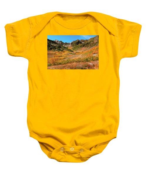 Colorful Mcgee Creek Valley Baby Onesie