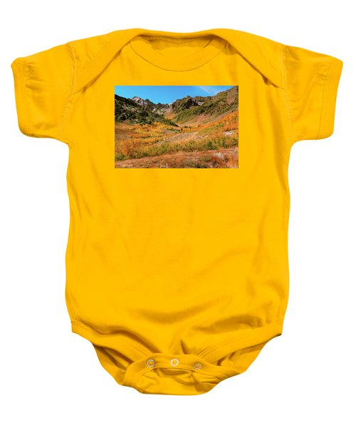 Colorful Mcgee Creek Valley Baby Onesie