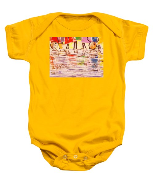 Colorful Reflections Baby Onesie