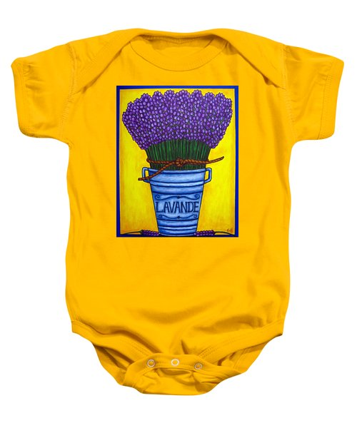 Colours Of Provence Baby Onesie