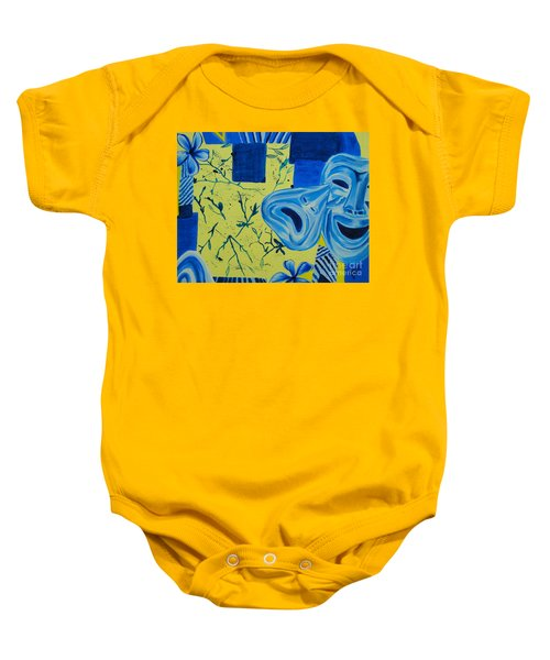 Comedy Or Tragedy Baby Onesie