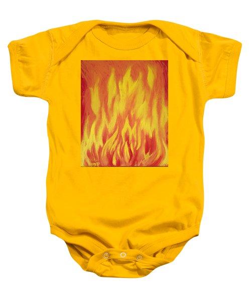 Consuming Fire Baby Onesie