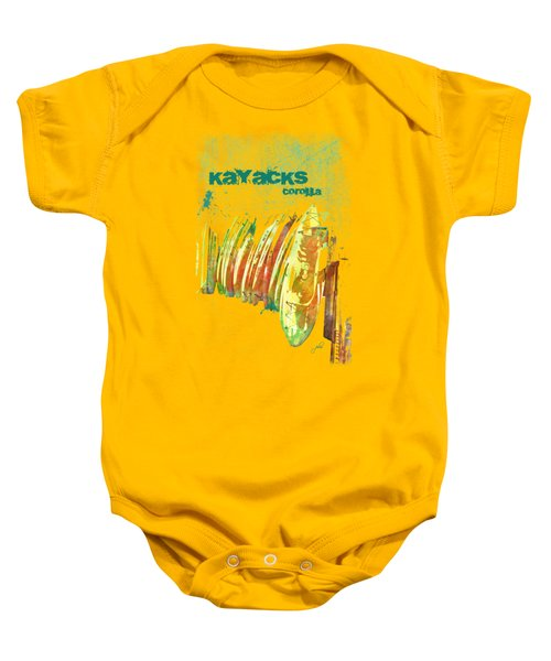 Corolla Kayacks Baby Onesie