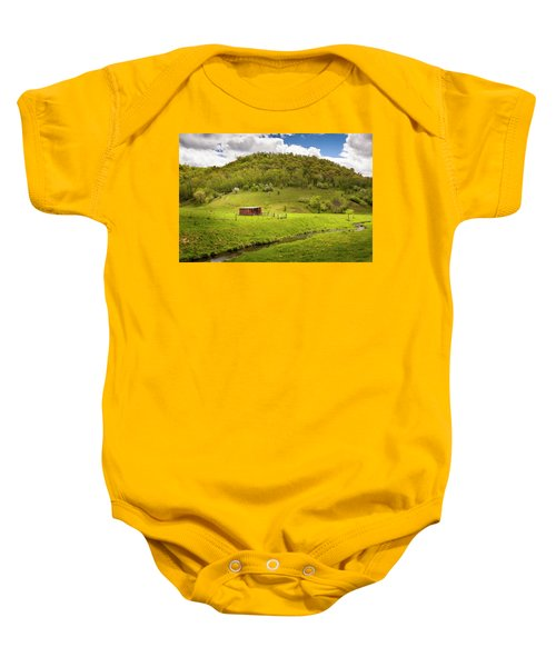 Coulee Morning Baby Onesie