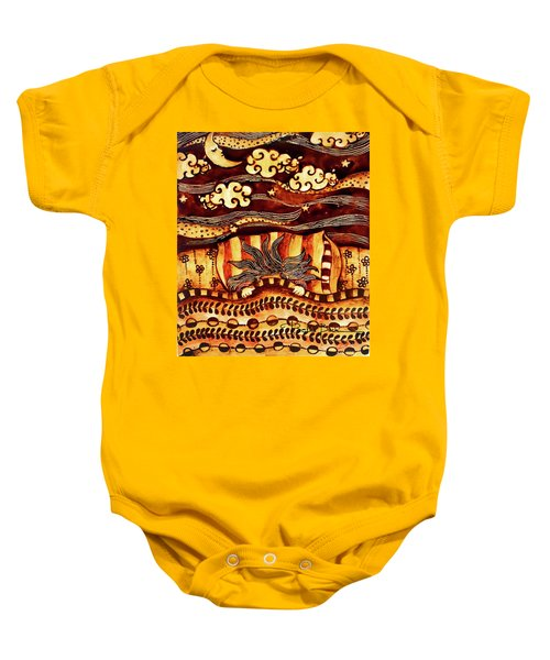 Counting Sheeps Baby Onesie
