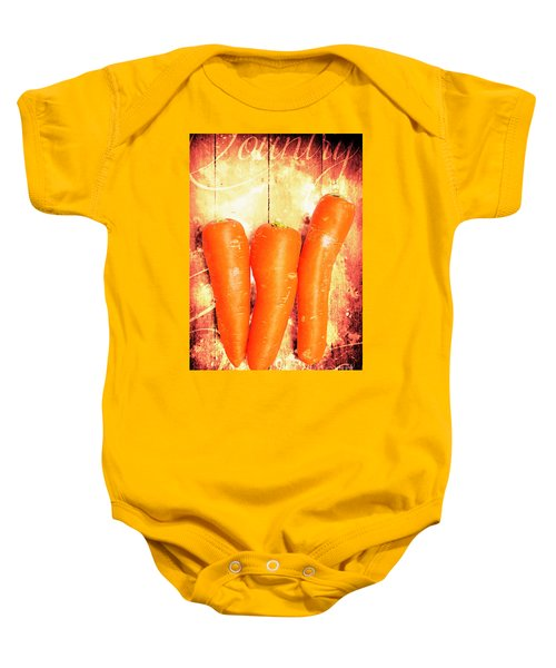 Country Cooking Poster Baby Onesie