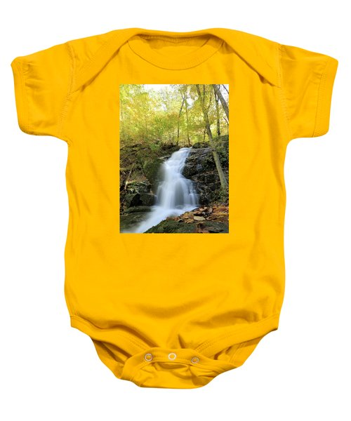 Crabtree Falls In The Fall Baby Onesie