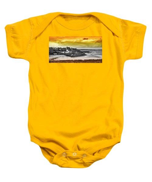 Crail Harbour Baby Onesie