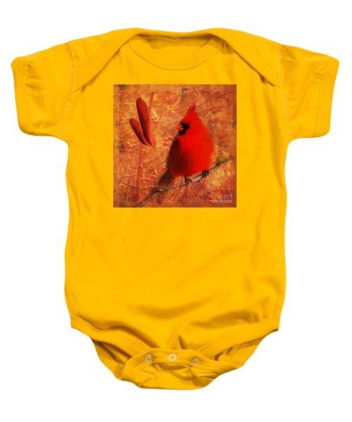 Crimson Splash 2015 Baby Onesie