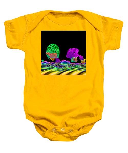 Cubistrain Baby Onesie