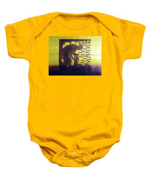 D U Rounds Project, Print 15 Baby Onesie