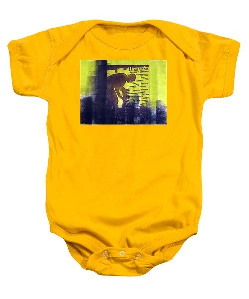 D U Rounds Project, Print 32 Baby Onesie