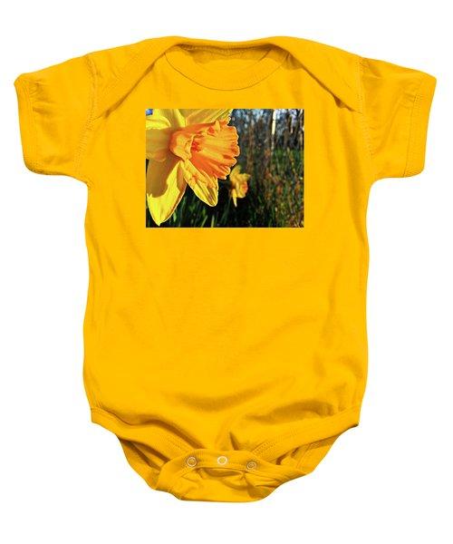 Daffodil Evening Baby Onesie