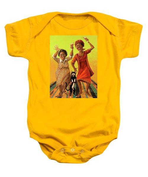 Dancin' Cause It's Tuesday Baby Onesie