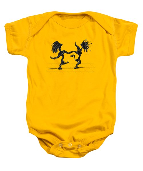 Dancing Couple 8 Baby Onesie