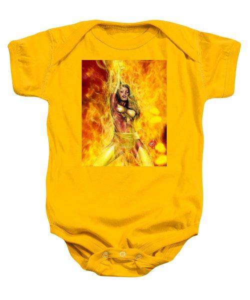 Dark Phoenix Baby Onesie