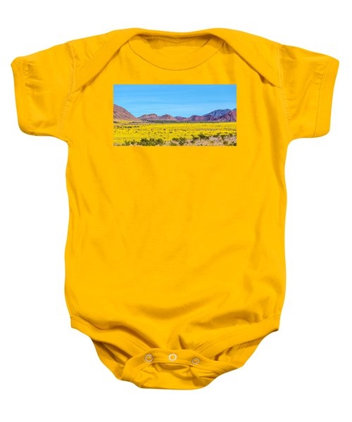 Death Valley Super Bloom 2016 Baby Onesie