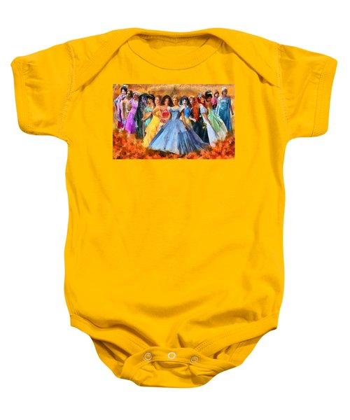 Disney's Princesses Baby Onesie