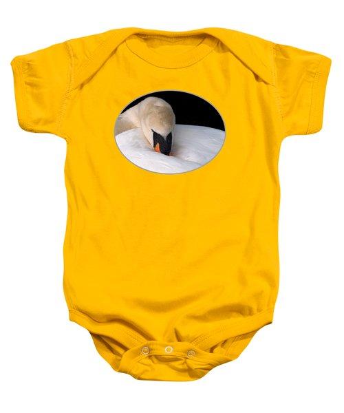 Do Not Disturb - Orange Baby Onesie by Gill Billington