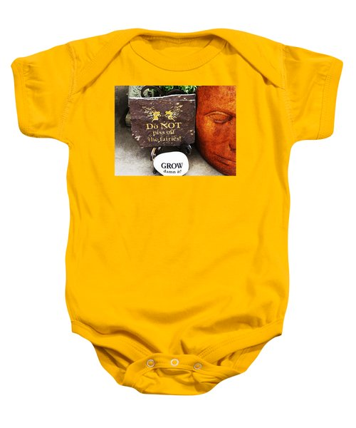 Do Not Piss Off The Faries Baby Onesie