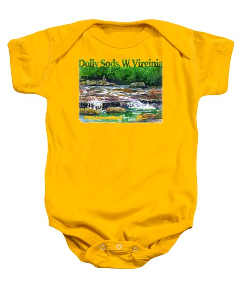 Dolly Sods Waterfalls Wv Shirt Baby Onesie