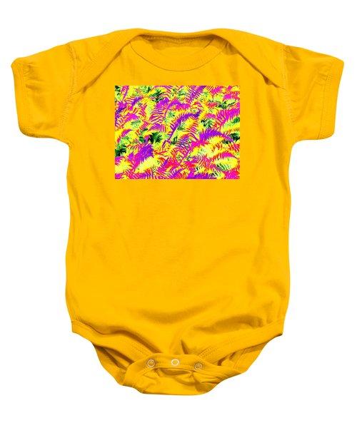 Dreaming Ferns Baby Onesie