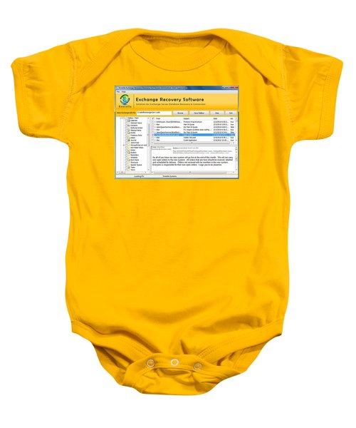 Edb To Ps T Software  Baby Onesie by Tomcruise