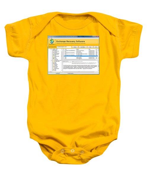 Edb To Ps T Software  Baby Onesie