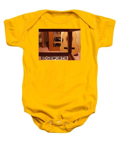 Edgeworth Acoustic Guitar Baby Onesie