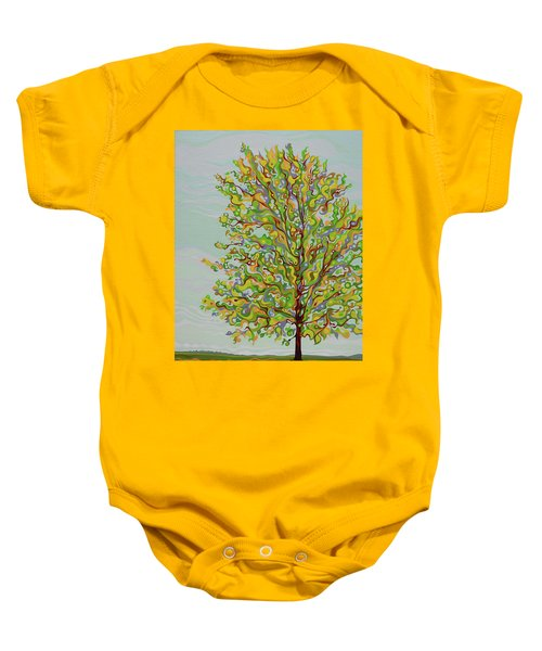 Ellie's Tree Baby Onesie