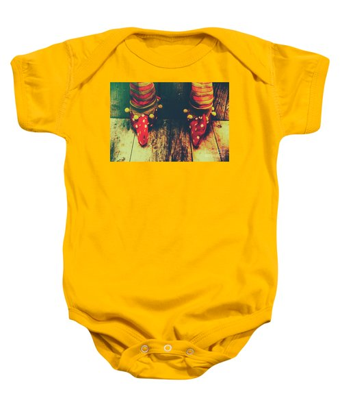 Elves And Feet Baby Onesie