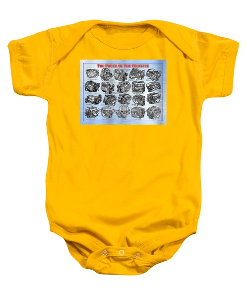 Eng-19_corvette-engines Baby Onesie