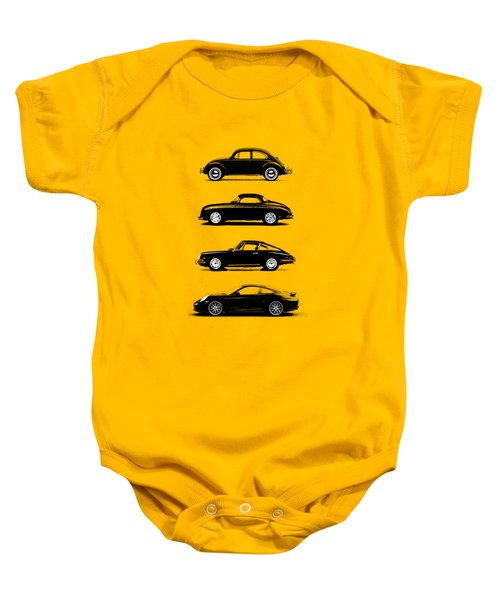 Evolution Baby Onesie by Mark Rogan