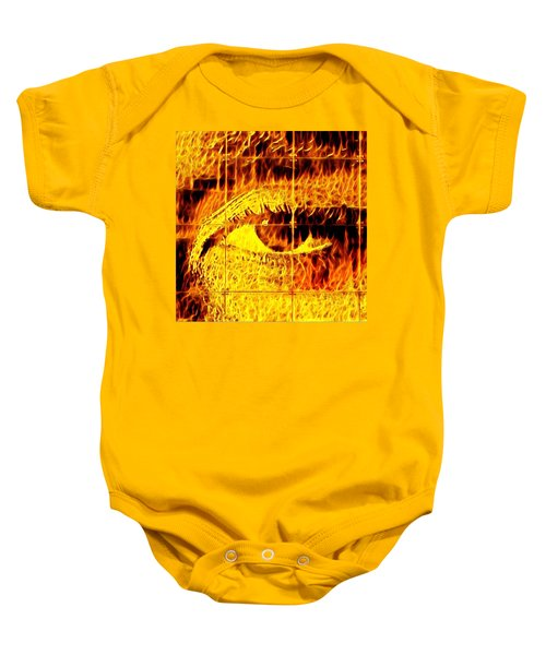 Face The Fire Baby Onesie