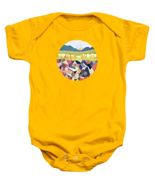 Fall Afternoon Light Baby Onesie