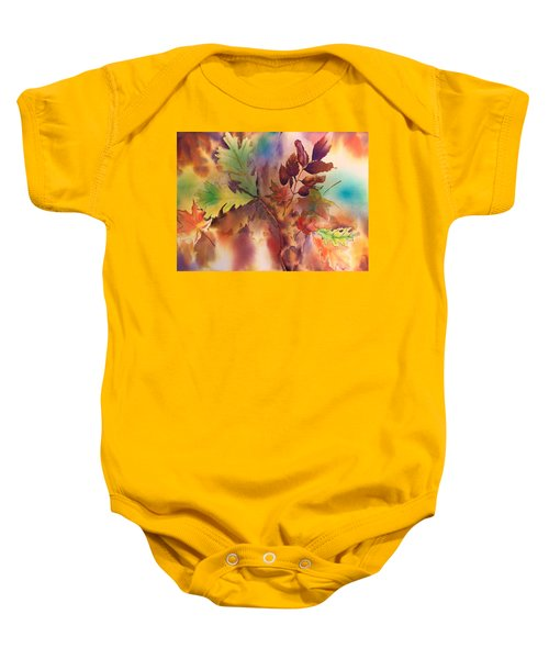 Fall Bouquet Baby Onesie