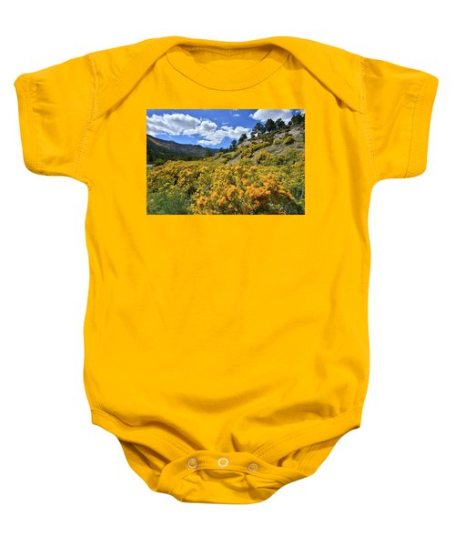 Fall Colors Come To Mt. Charleston Baby Onesie