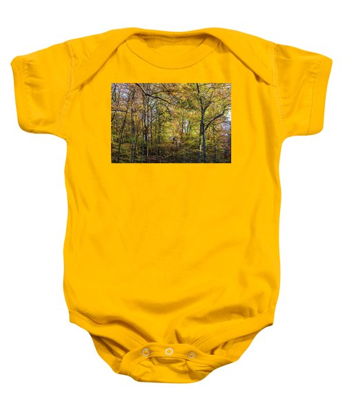 Fall Colors Of Rock Creek Park Baby Onesie