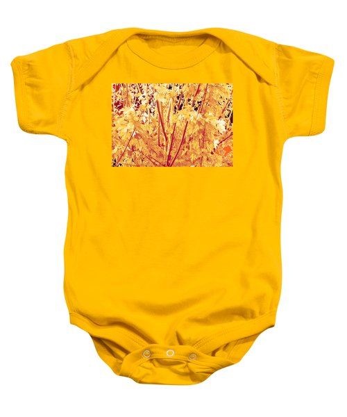 Fall Leaves #1 Baby Onesie