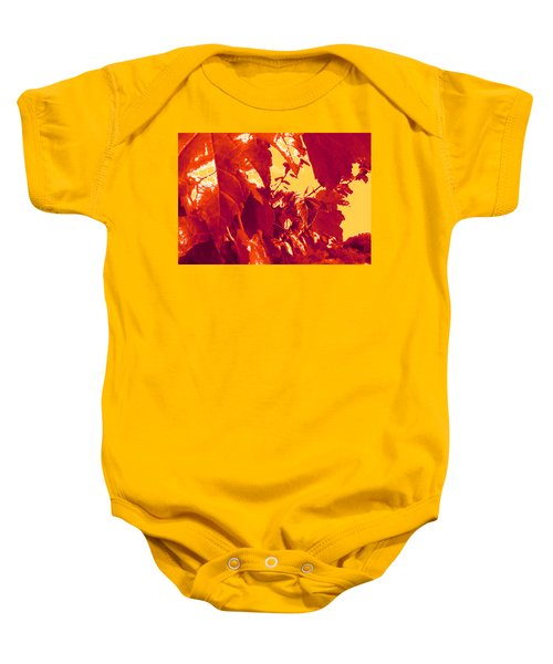Fall Leaves #13 Baby Onesie