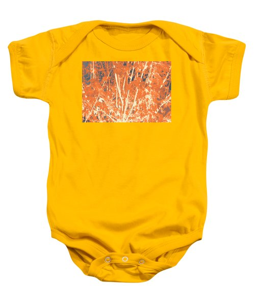 Fall Leaves #3 Baby Onesie