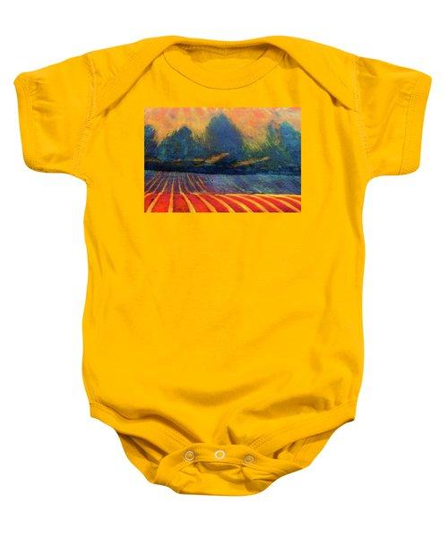 Fallow Field 2 Baby Onesie